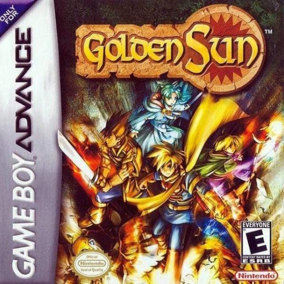Golden Sun Nintendo Game Boy Advance - Gandorion Games