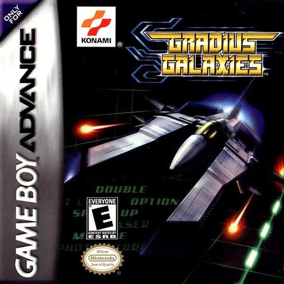 Gradius Galaxies Nintendo Game Boy Advance - Gandorion Games