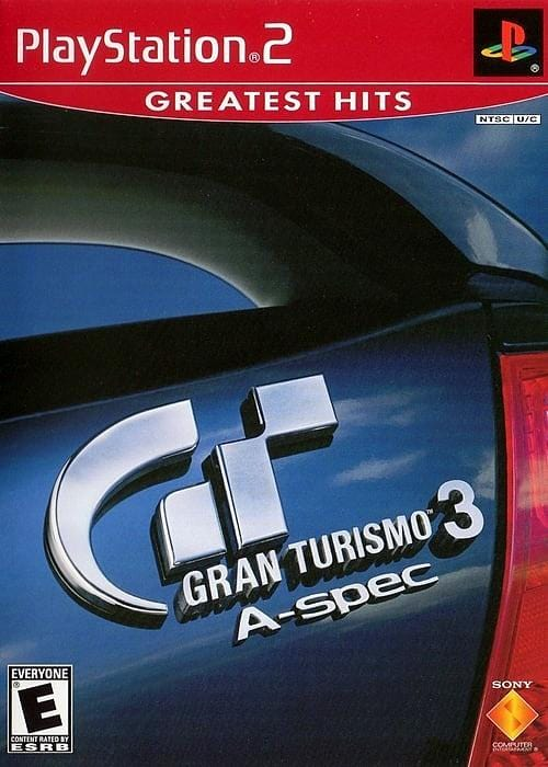 Gran Turismo 3 A-Spec (Greatest Hits) Sony PlayStation 2 Game PS2 - Gandorion Games
