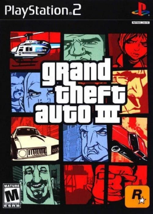 Grand Theft Auto III Sony PlayStation 2 Game - Gandorion Games