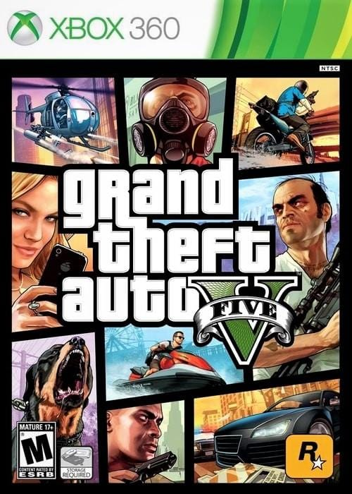 Grand Theft Auto V Xbox 360 Game - Gandorion Games
