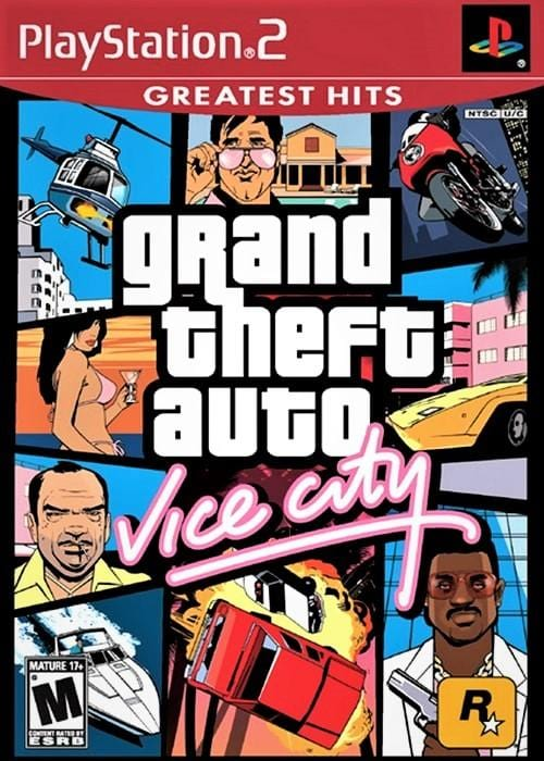 Grand Theft Auto Vice City (Greatest Hits) Sony PlayStation 2 Game - Gandorion Games
