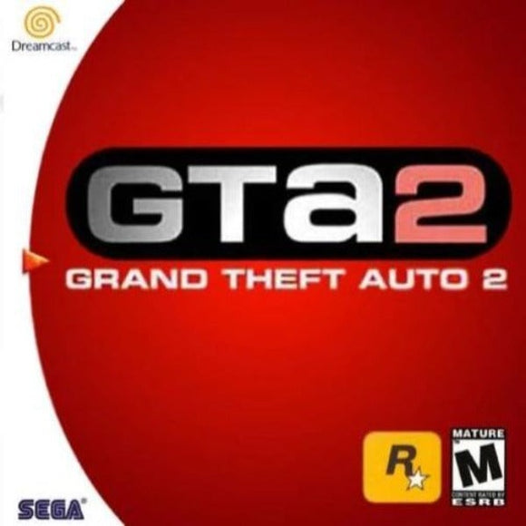 Grand Theft Auto 2 Sega Dreamcast - Gandorion Games