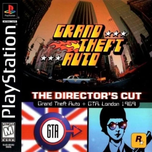 Grand Theft Auto Director's Cut PlayStation Game - Gandorion Games