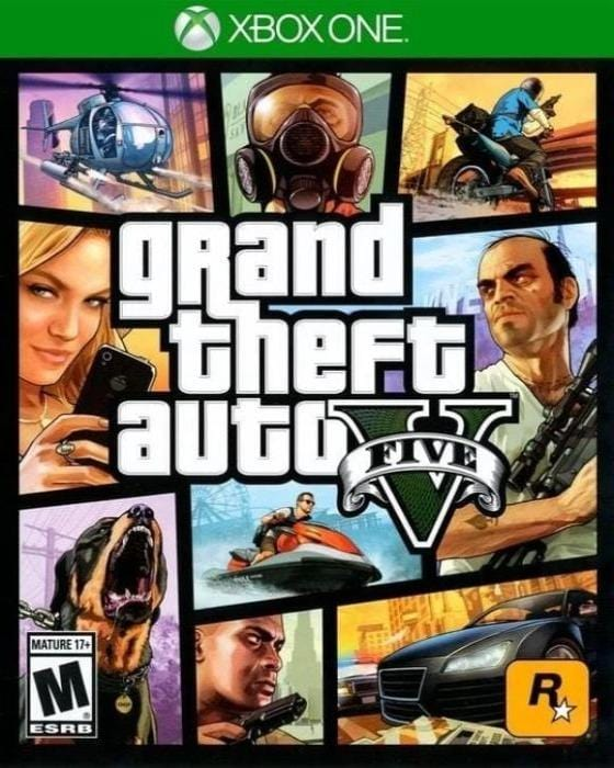 Grand Theft Auto V Microsoft Xbox One Game - Gandorion Games