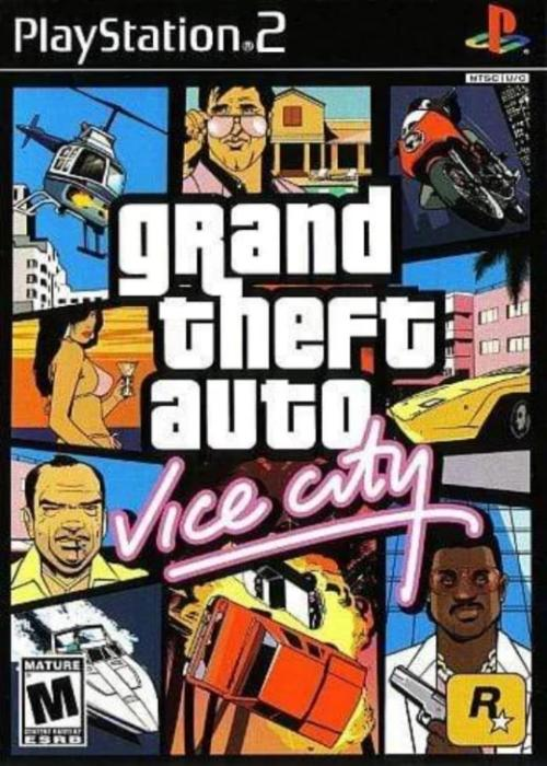 Grand Theft Auto: Vice City Sony PlayStation 2 PS2 Game - Gandorion Games