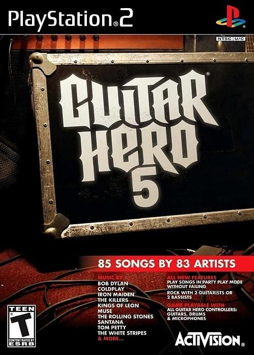 Guitar Hero 5 Sony PlayStation 2 - Gandorion Games
