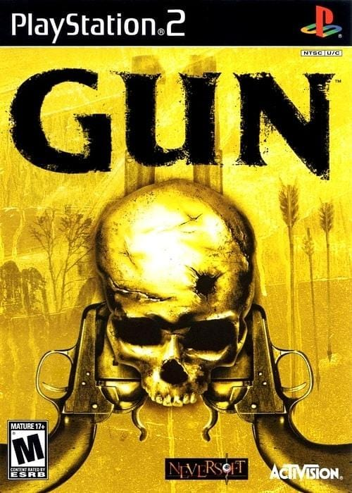 Gun Sony PlayStation 2 Game PS2 - Gandorion Games