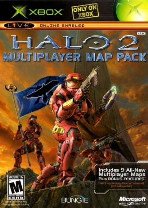 Halo 2 Multiplayer Map Pack - Microsoft Xbox Game -  Gandorion GamesGame -  Gandorion Games
