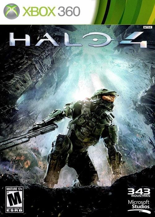 Halo 4 Xbox 360 Game - Gandorion Games