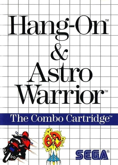 Hang-On and Astro Warrior Sega Master System - Gandorion Games
