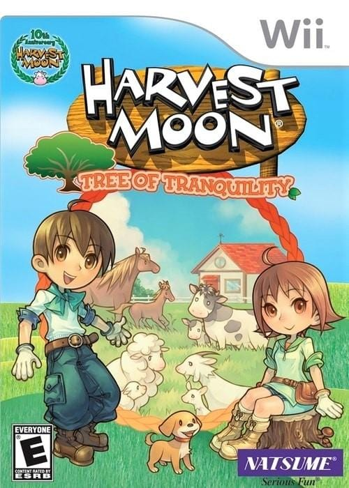 Harvest Moon Tree of Tranquility Nintendo Wii Game - Gandorion Games