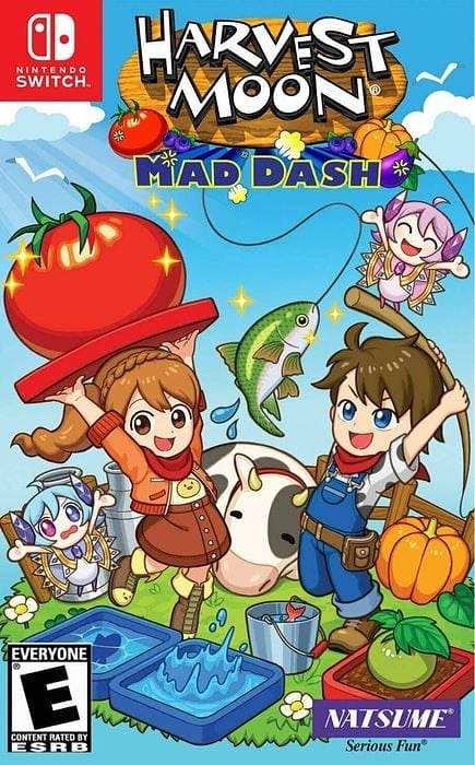 Harvest Moon Mad Dash - Nintendo Switch - Gandorion Games