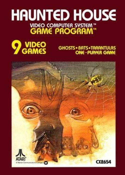 Haunted House Atari 2600 Game - Gandorion Games