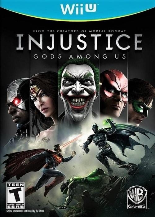 Injustice Gods Among Us Nintendo Wii U - Gandorion Games