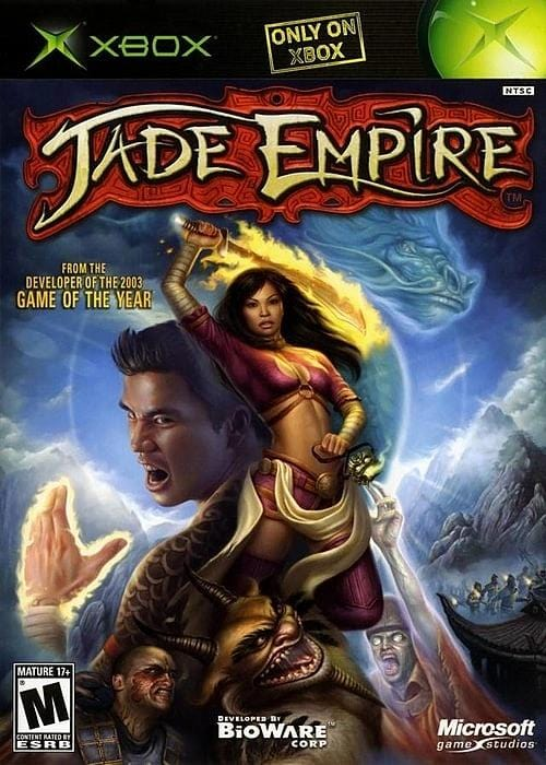 Jade Empire Microsoft Xbox Game - Gandorion Games