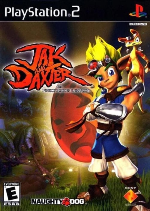 Jak and Daxter The Precursor Legacy Sony PlayStation 2 - Gandorion Games