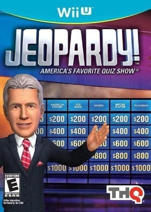 Jeopardy! Jeopardy! Nintendo Wii U Game - Gandorion Games