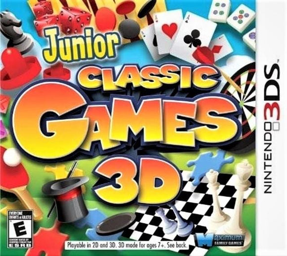 Junior Classic Games 3D Nintendo 3DS Game - Gandorion Games