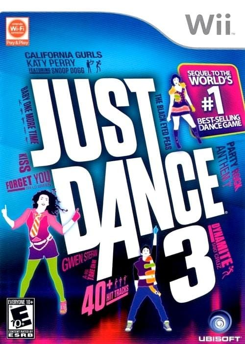 Just Dance 3 Nintendo Wii Game - Gandorion Games