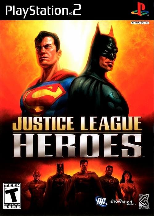 Justice League Heroes PlayStation 2 - Gandorion Games