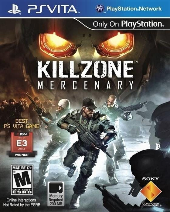 Killzone Mercenary Sony PlayStation Vita - Gandorion Games