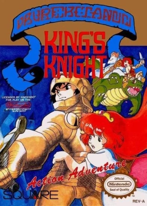 King's Knight Nintendo NES - Gandorion Games