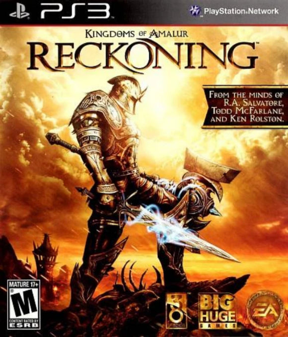 Kingdoms of Amalur Reckoning Sony Playstation 3 - Gandorion Games