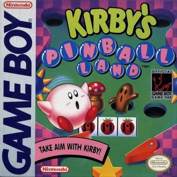 Kirby's Pinball Land Nintendo Game Boy - Gandorion Games