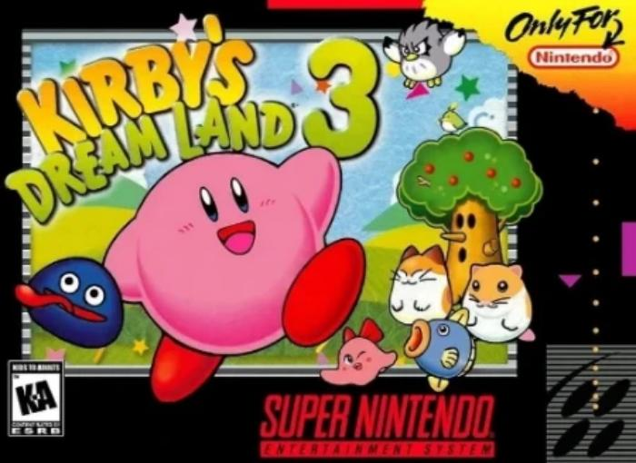 Kirby's Dream Land 3 Super Nintendo SNES - Gandorion Games