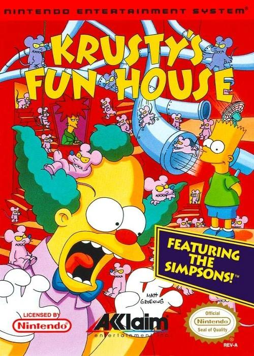 Krusty's Fun House Nintendo NES Game - Gandorion Games