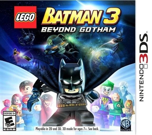 LEGO Batman 3 Beyond Gotham Nintendo 3DS Game - Gandorion Games