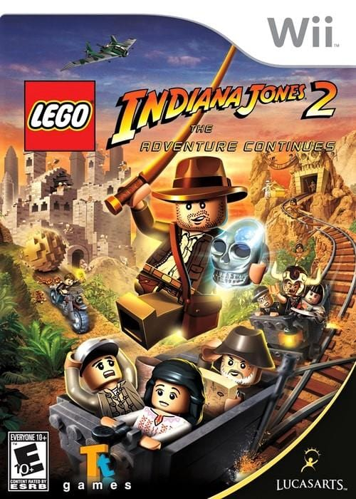 LEGO Indiana Jones 2 The Adventure Continues Nintendo Wii - Gandorion Games