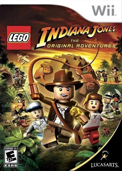 LEGO Indiana Jones The Original Adventures Nintendo Wii Game - Gandorion Games