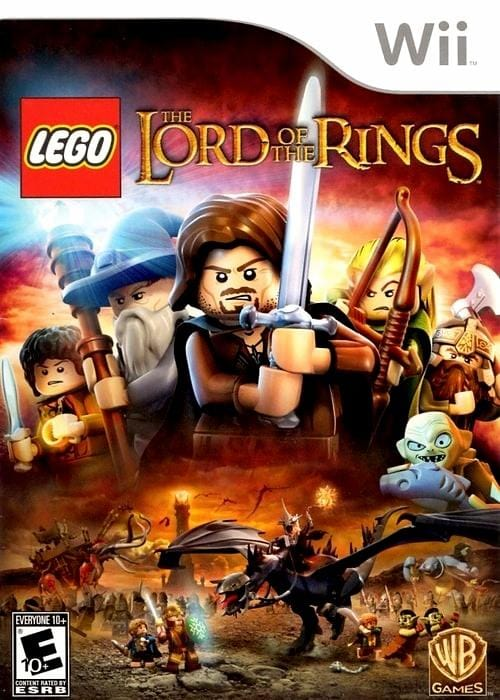 LEGO Lord Of The Rings Nintendo Wii - Gandorion Games