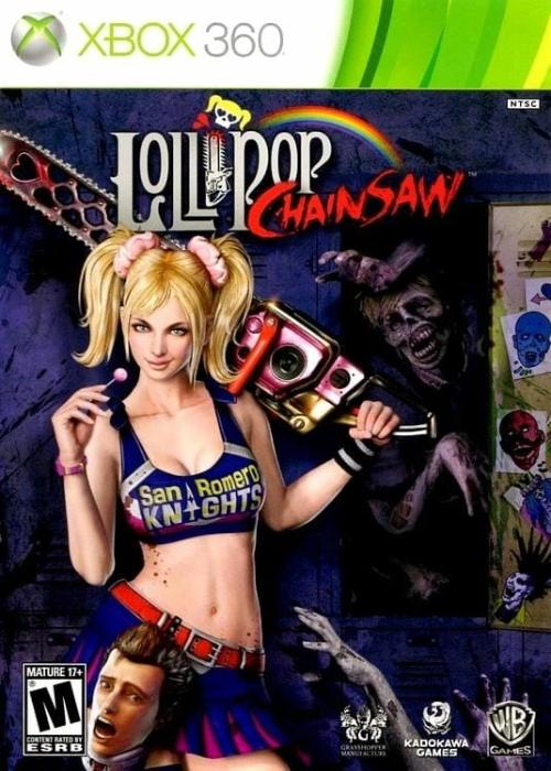 Lollipop Chainsaw Microsoft Xbox 360 Game - Gandorion Games