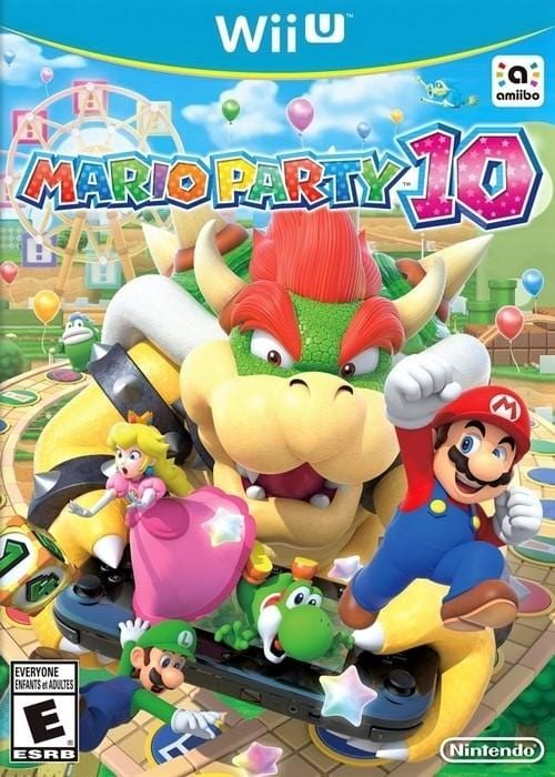 Mario Party 10 Nintendo Wii U Game - Gandorion Games