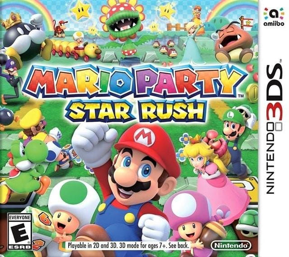 Mario Party Star Rush Nintendo 3DS Game - Gandorion Games