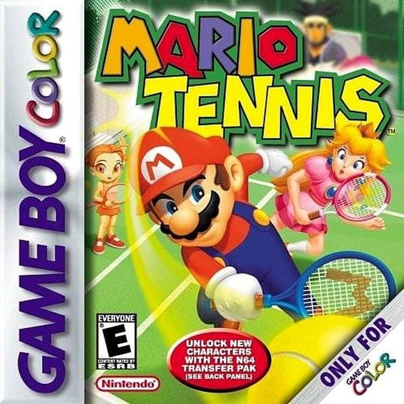 Mario Tennis Nintendo Game Boy Color GBC - Gandorion Games