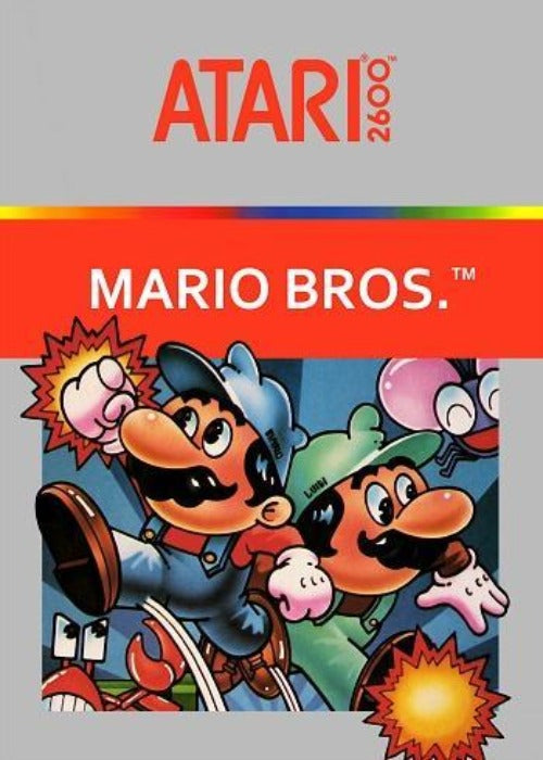 Mario Bros. Atari 2600 Game - Gandorion Games