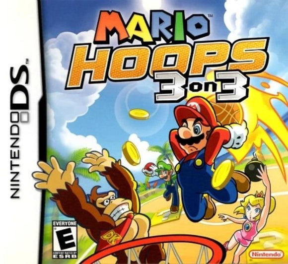 Mario Hoops 3-on-3 Nintendo DS Game - Gandorion Games