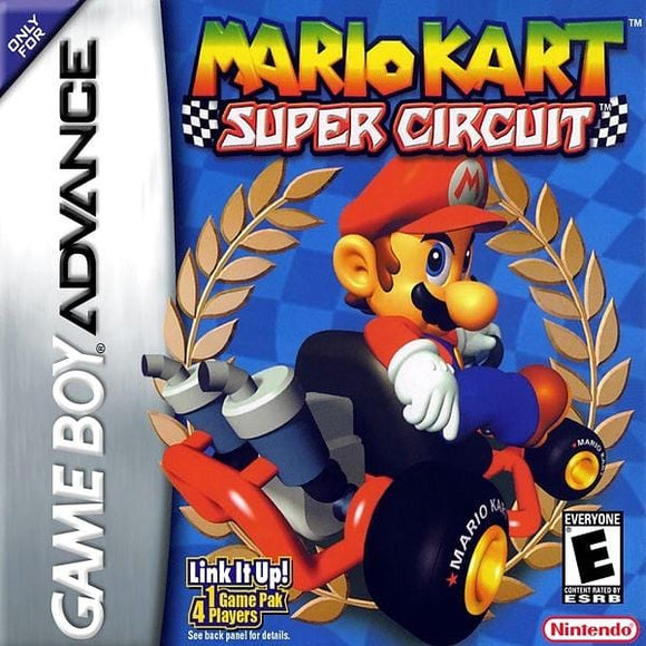 Mario Kart Super Circuit - Nintendo Game Boy Advance