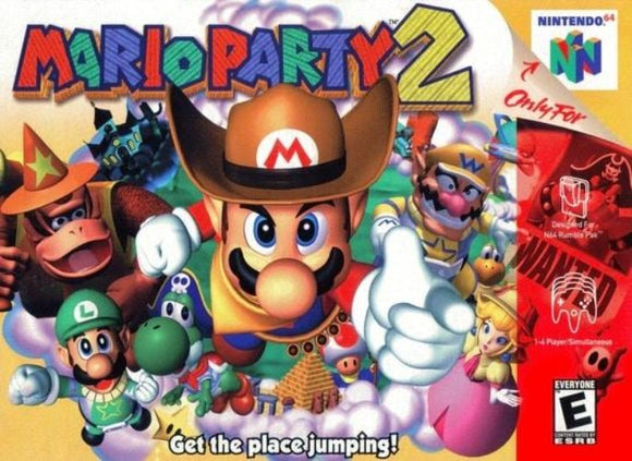 Mario Party 2 Nintendo 64 - Gandorion Games