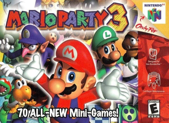 Mario Party 3 Nintendo 64 - Gandorion Games