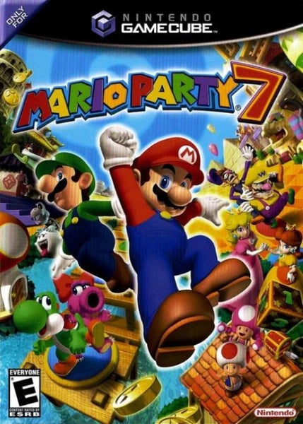 Mario Party 7 Nintendo GameCube Game - Gandorion Games