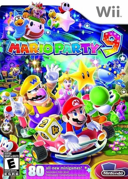 Mario Party 9 Nintendo Wii Game - Gandorion Games
