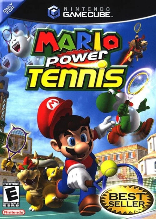 Mario Power Tennis Nintendo GameCube - Gandorion Games