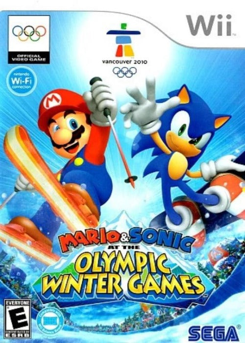 Mario & Sonic at the Olympic Winter Games Nintendo Wii - Gandorion Games