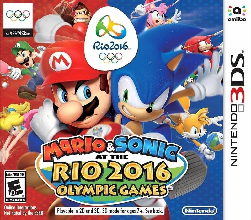 Mario & Sonic at the Rio 2016 Olympic Games Nintendo 3DS - Gandorion Games