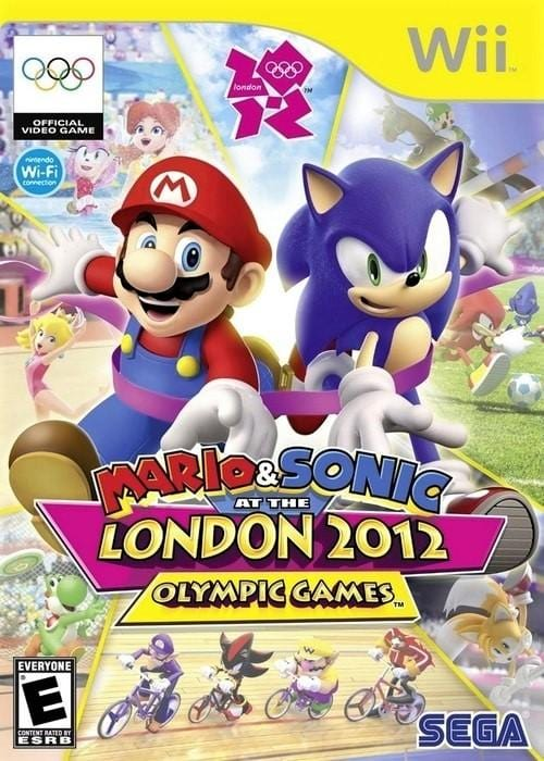 Mario & Sonic at the London 2012 Olympic Games Nintendo Wii Game - Gandorion Games